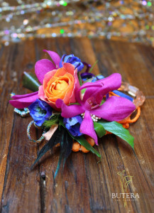 BoHo prom flowers by Butera The Florist
