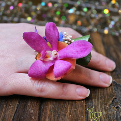 BoHo ring by Butera The Florist