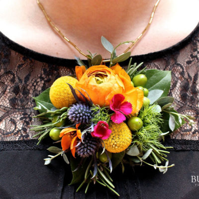 hipster floral pendant by Butera The Florist