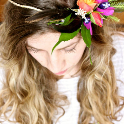 BoHo Flower crown by Butera The Florist