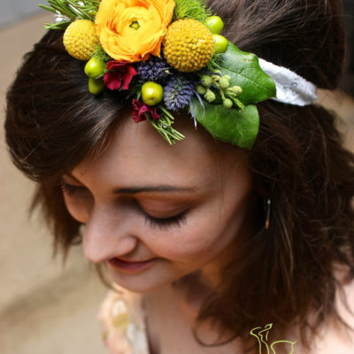 Hipster Flower Crown by Butera The Florist