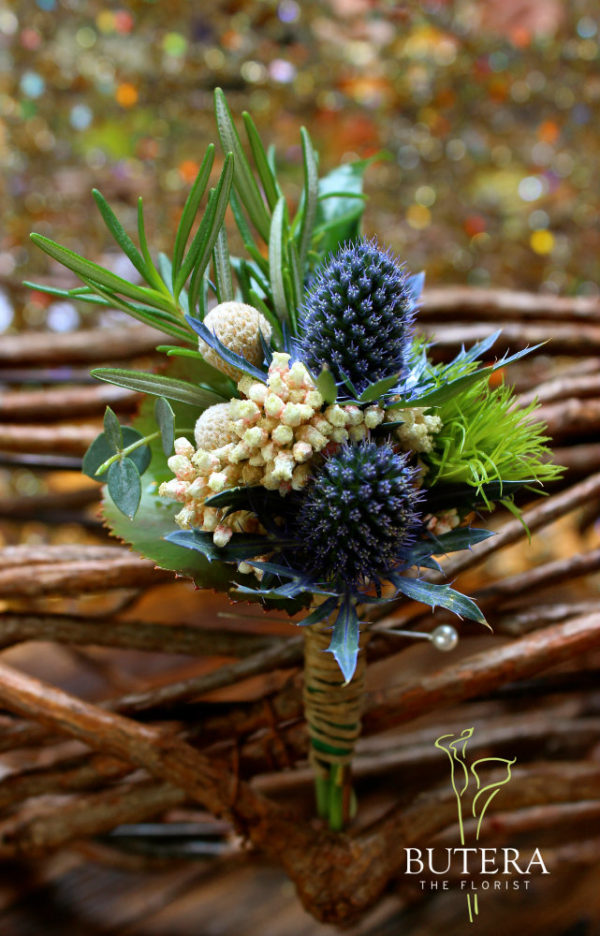 boutonniere by Butera The Florist